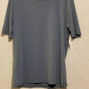 NWT 3xl Gigi Shirt-Bluish Gray